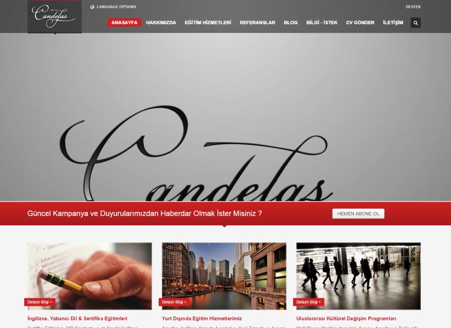 Candelas Eğitim Danışmanlık Hizmeti ve Site Performans Hizmetleri
